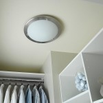 Add Light Fixture Closet