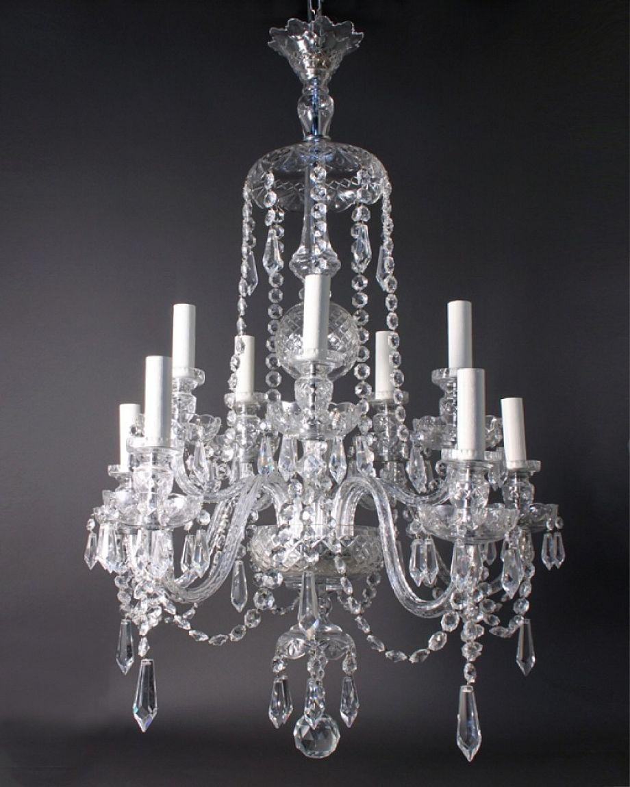 Antique Crystal Light Fixtures