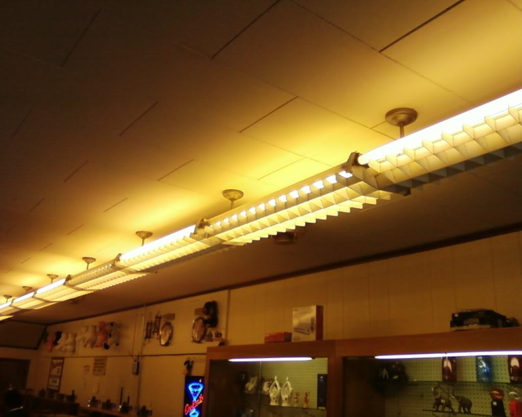 Antique Fluorescent Light Fixtures