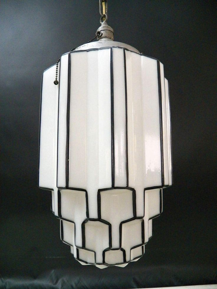 Antique Glass Light Fixtures