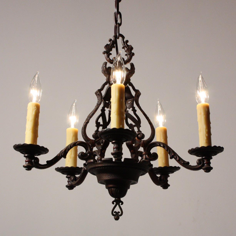 Antique Iron Lighting Fixtures