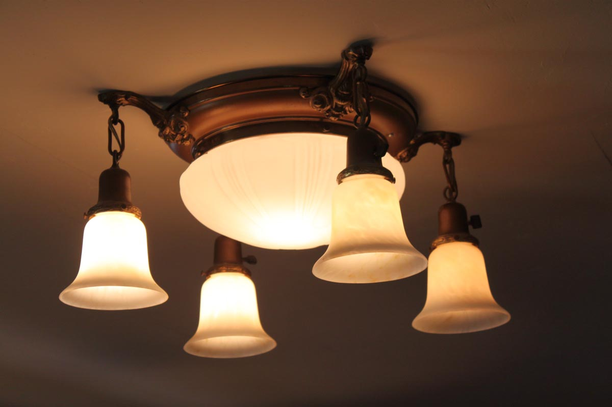 Antique Looking Light Fixtures