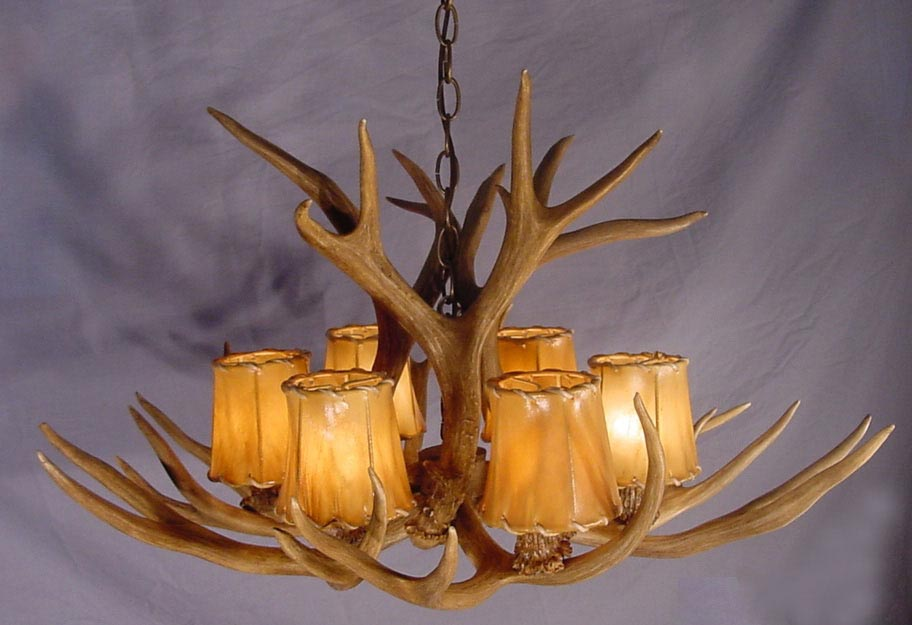 Antler Ceiling Light Fixture
