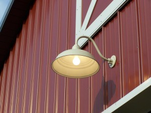 Barn Door Light Fixture