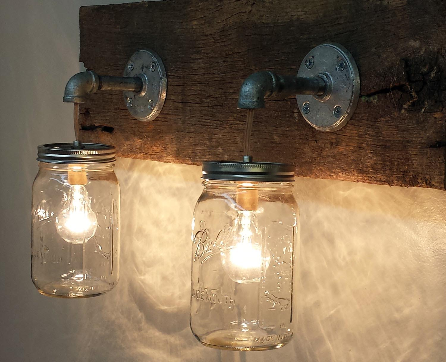 Bathroom Light Fixtures Retro