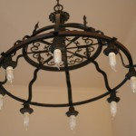 Black Iron Light Fixture