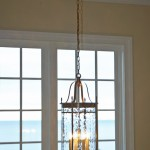 Brass Lantern Light Fixture