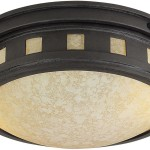 Bronze Fluorescent Light Fixtures