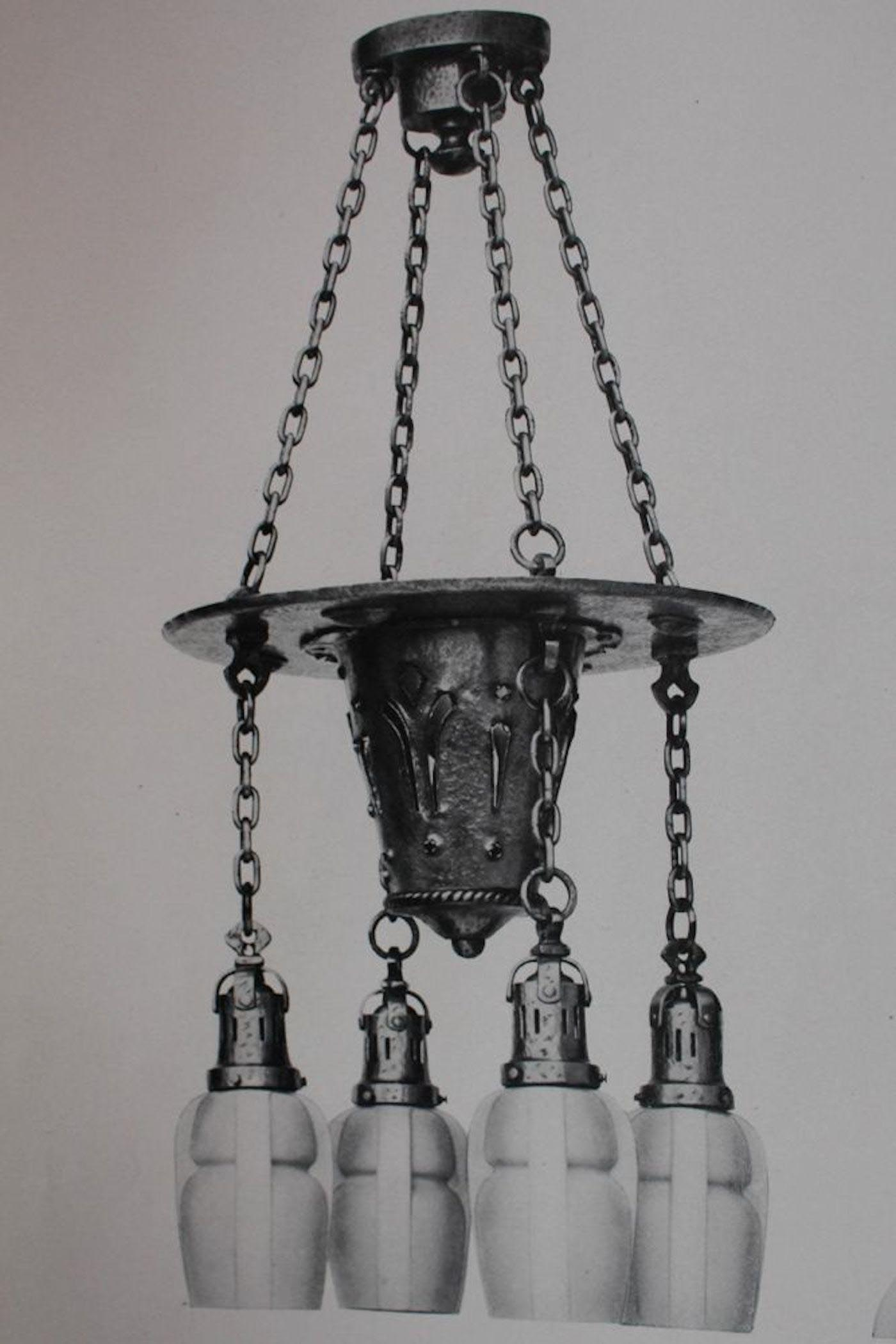 Cast Iron Light Fixture