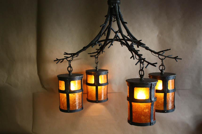 Cast Iron Lighting Fixtures