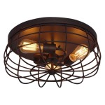 Ceiling Light Fixtures Bronze