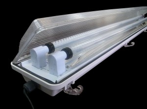 Cool Tube Light Fixture
