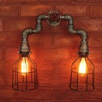 Copper Bathroom Light Fixtures