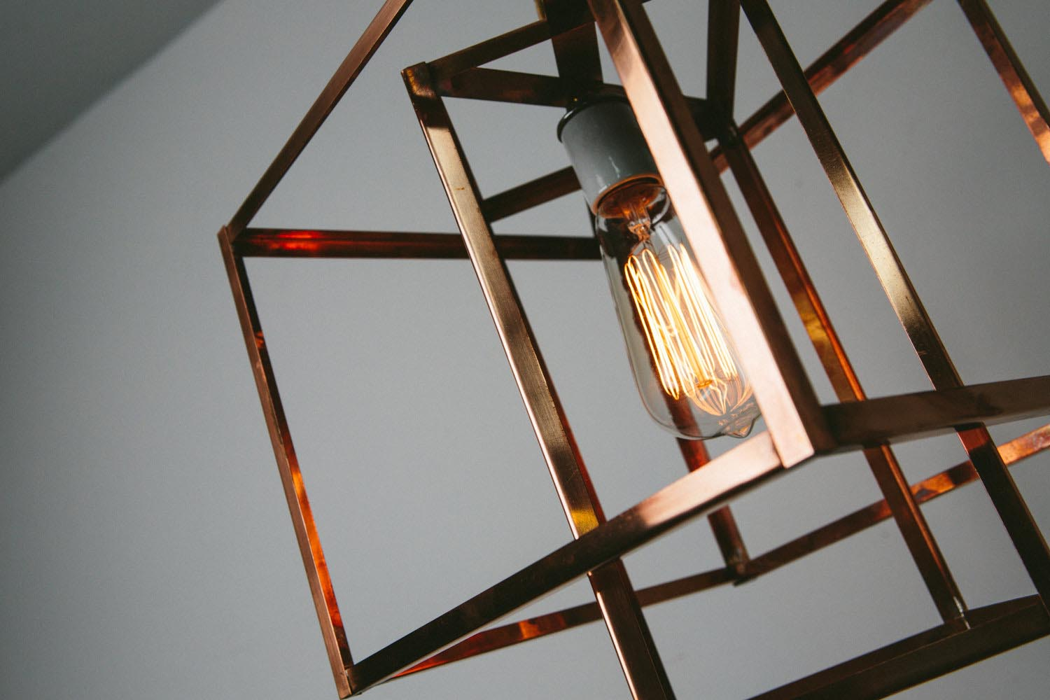 Copper Ceiling Lighting Fixtures