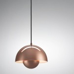 Copper Hanging Light Fixture