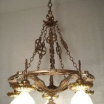Copper Light Fixture Chain