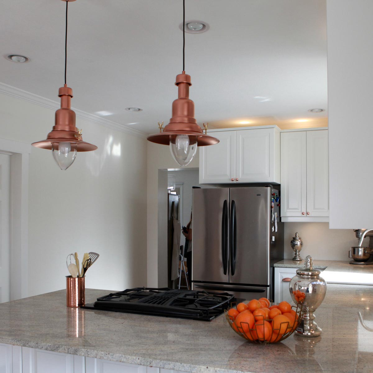 Copper Pendant Light Fixture