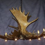 Deer Antler Light Fixture