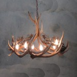 Deer Antler Lighting Fixtures