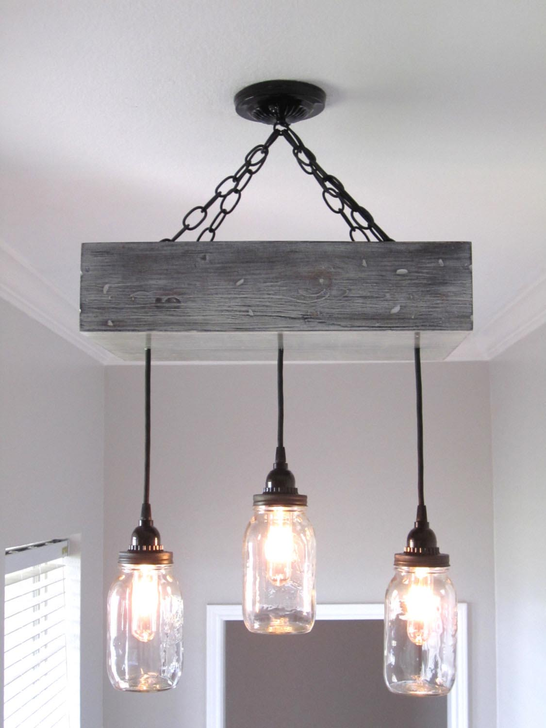 Farmhouse ceiling light fixtures light fixtures design ideas for Lustre suspension triple