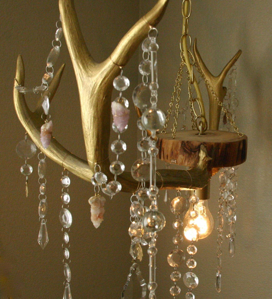 Faux Antler Lighting Fixtures
