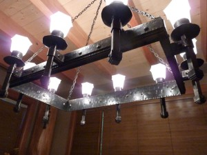 Forged Iron Light Fixtures