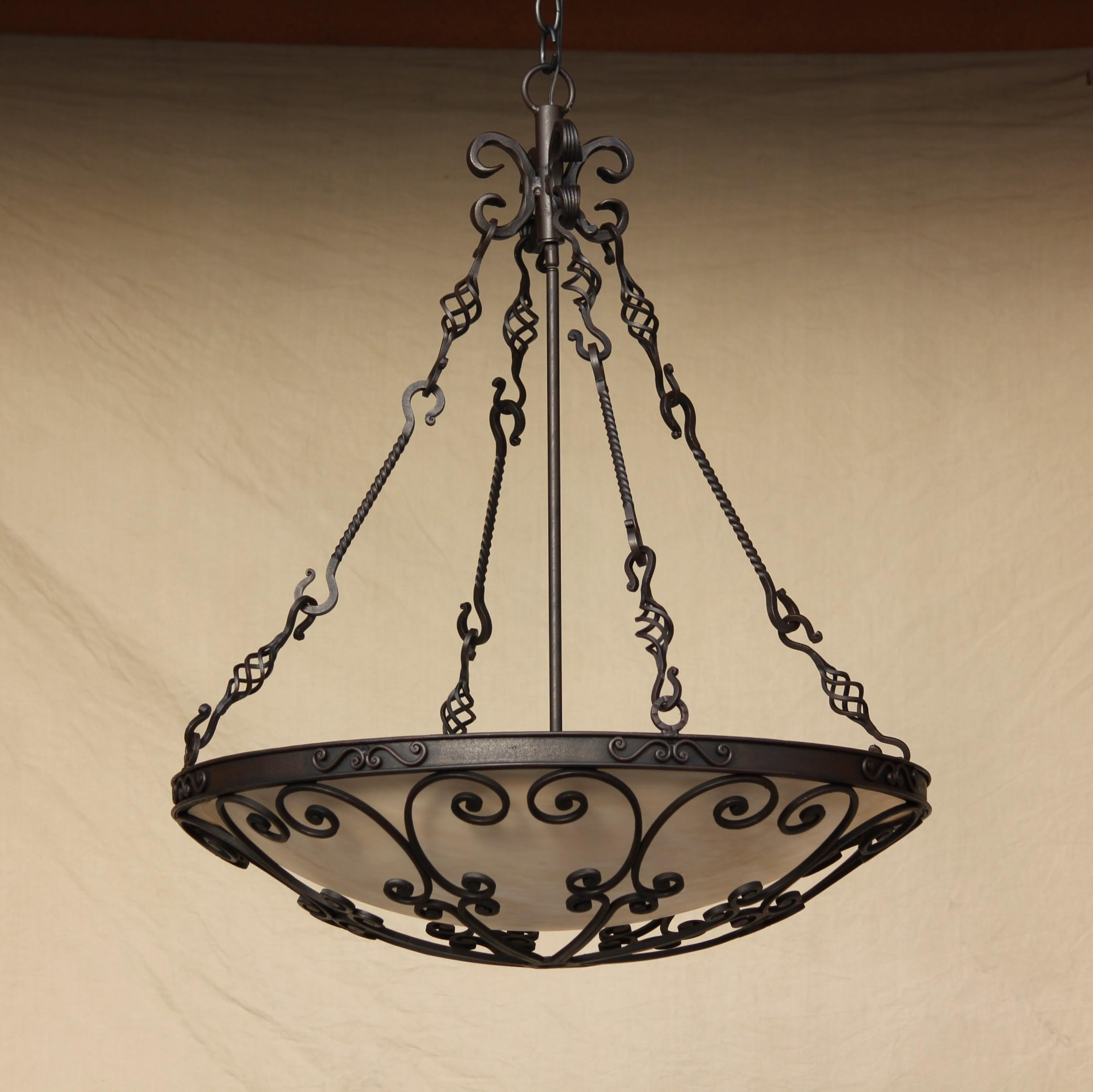 Forged Iron Lighting Fixtures