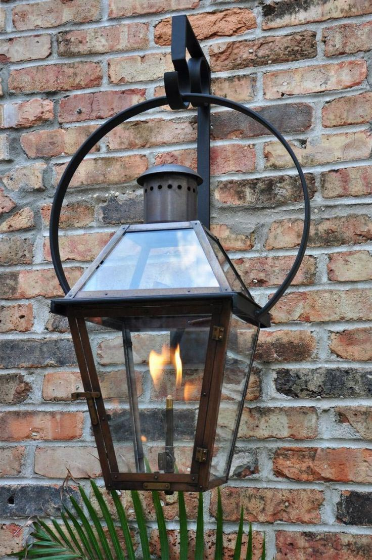 Gas Lantern Light Fixtures
