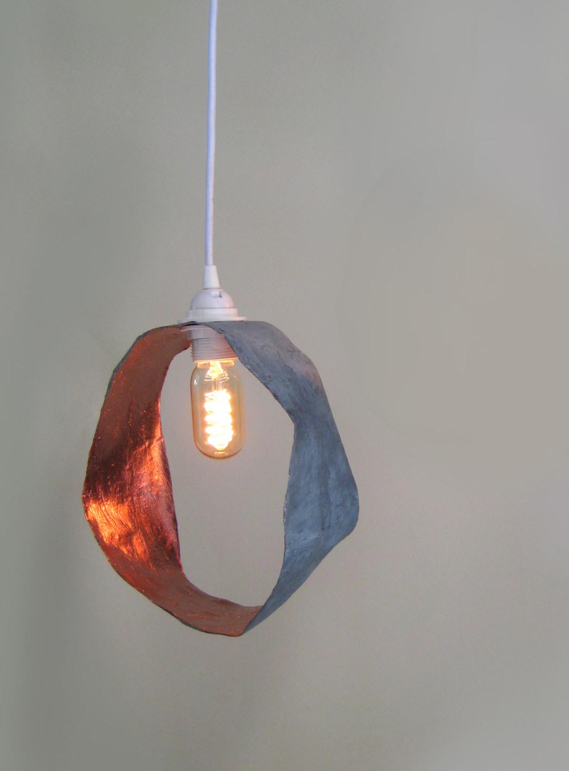 Hammered Copper Light Fixtures