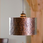 Hammered Copper Lighting Fixtures