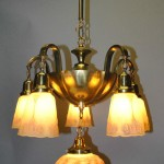 Hand Painted Light Fixtures