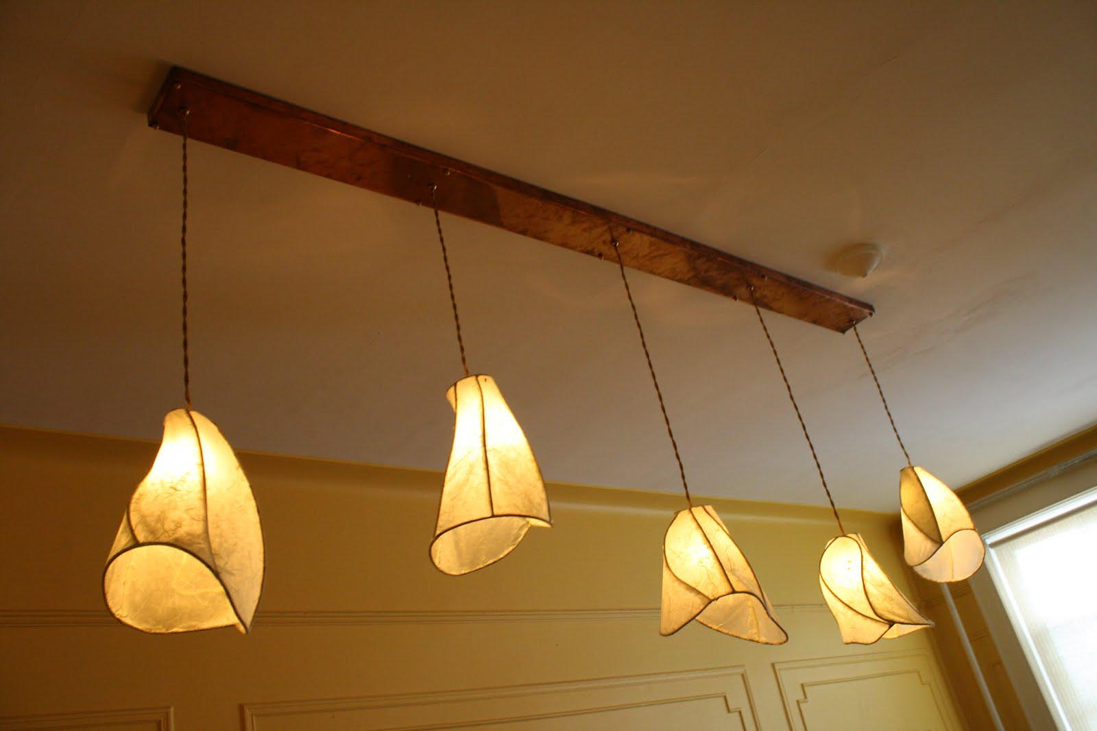 Handmade Copper Light Fixtures