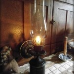Hurricane Lantern Light Fixture