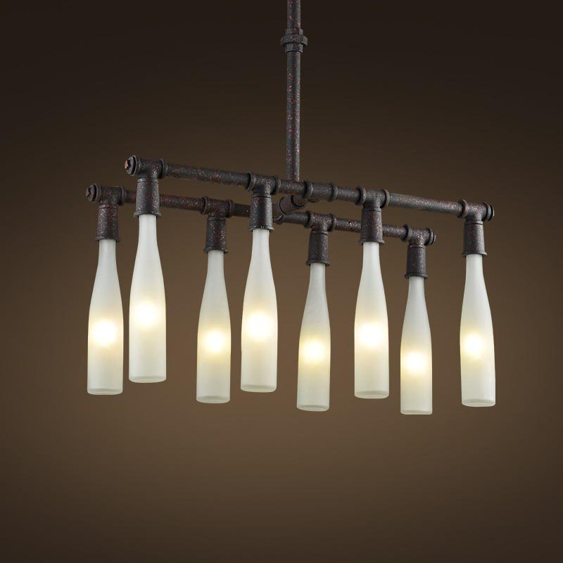 Iron Ceiling Light Fixture