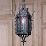 Iron Lantern Lighting Fixtures