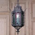 Iron Lantern Lighting Fixtures
