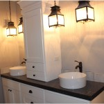 Iron Light Fixtures Bathroom