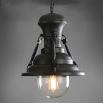 Iron Pendant Light Fixture