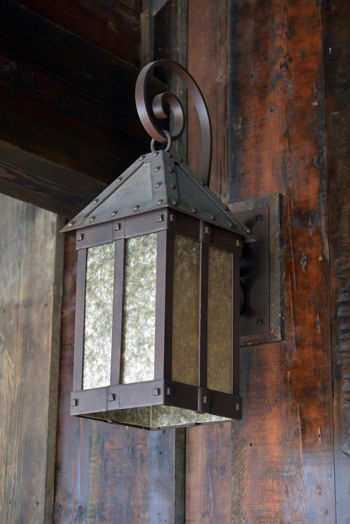 Iron Work Light Fixture