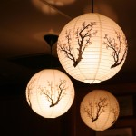 Japanese Lantern Light Fixture