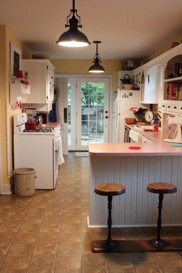 Kitchen Light Fixtures Copper