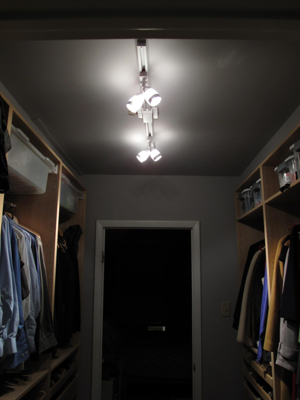 LED Light Fixture Closet
