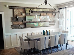 Light Fixture for Farmhouse Table