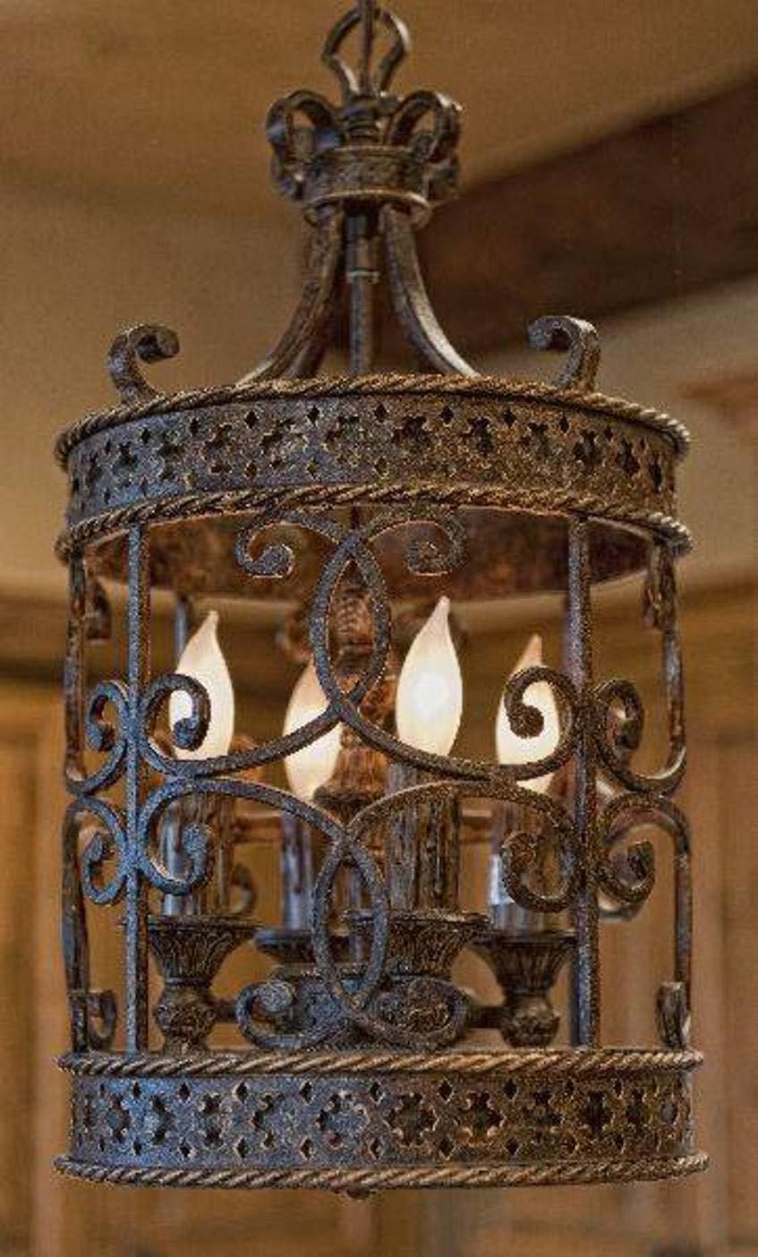 Light Fixtures Wrought Iron
