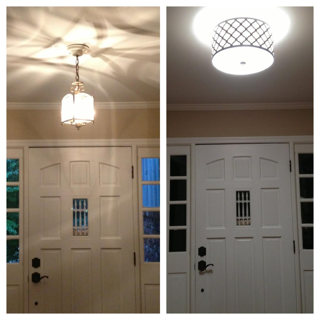 Modern entryway lighting fixtures light fixtures design for Contemporary foyer ideas