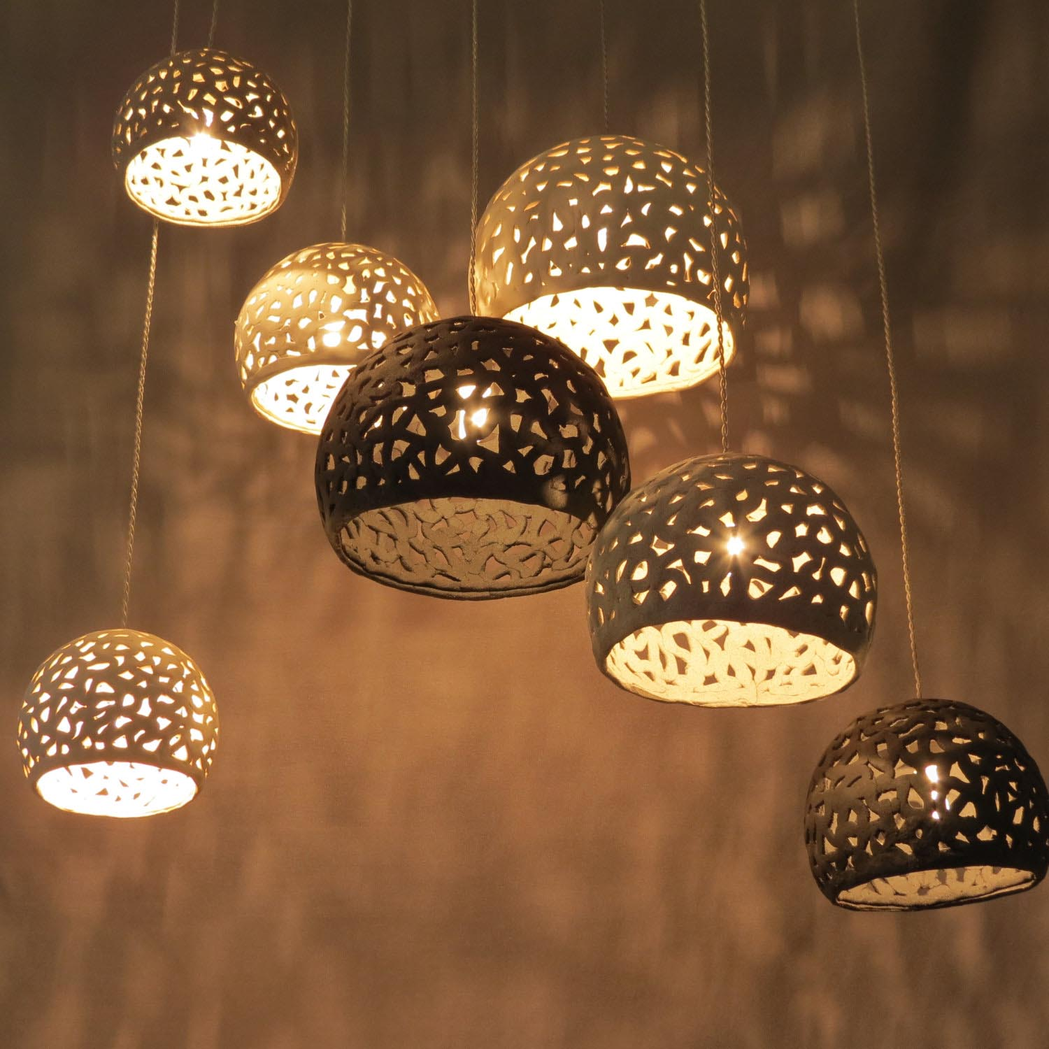 Natural Iron Light Fixtures