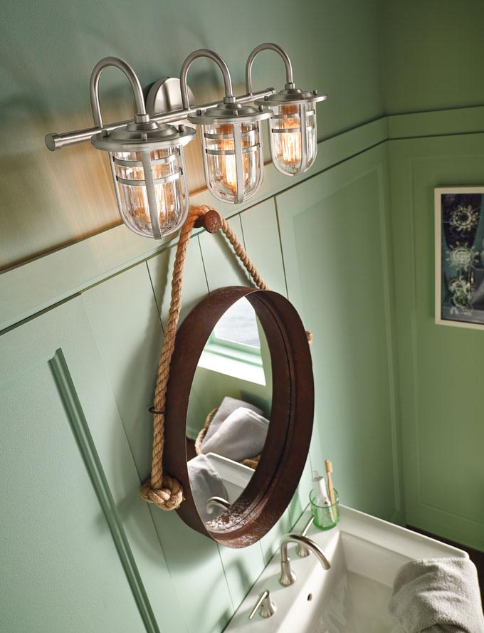Nautical Bathroom Light Fixtures