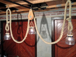 Nautical Rope Light Fixtures