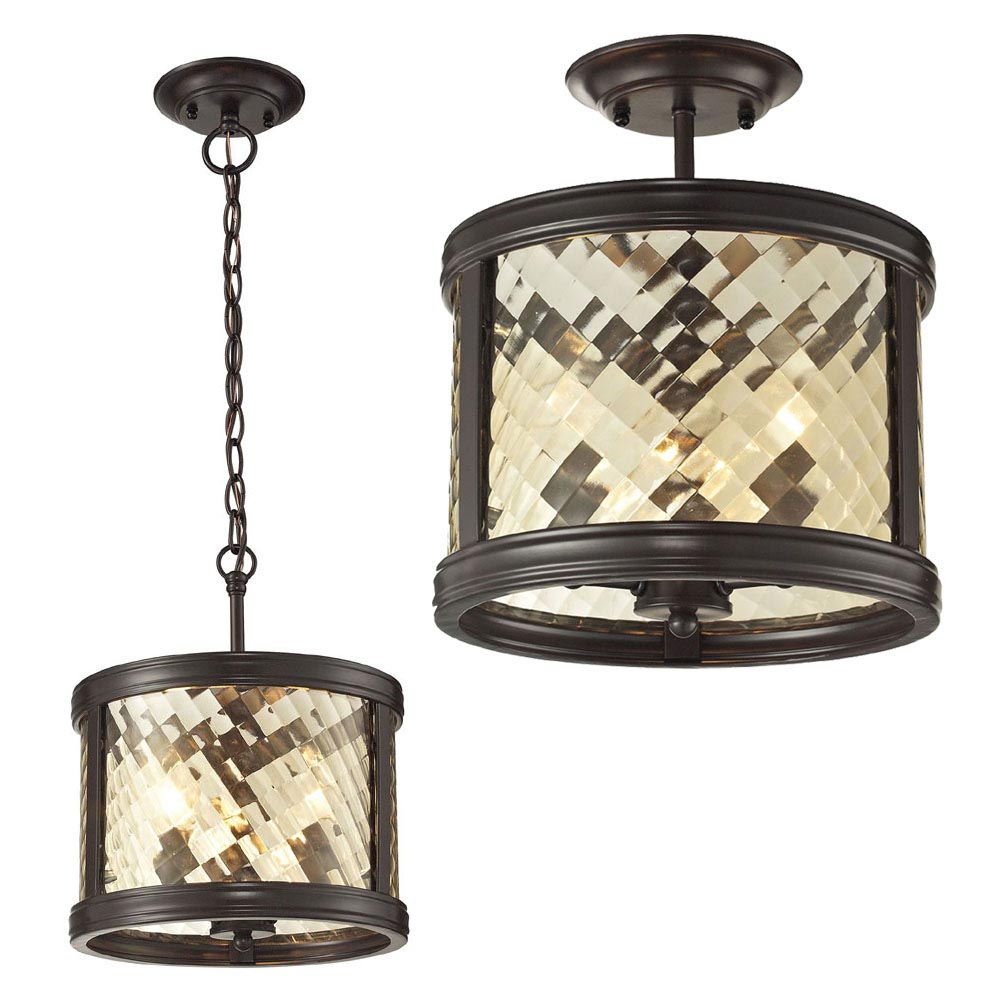 Oiled Bronze Light Fixtures