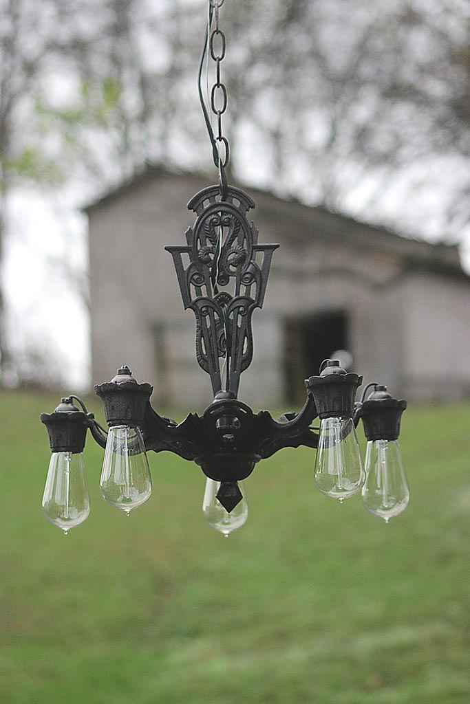 Old Iron Light Fixtures
